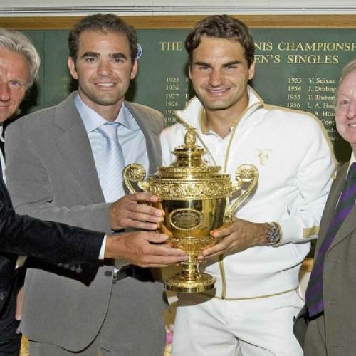 'Cây trường sinh' Federer