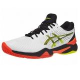 Giày Tennis Asics Court FF 2 White/Black/Orange (1041A083.100)