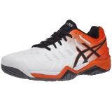 Giày Tennis Asics Gel Resolution 7 White/Koi/Black (E701Y-100)