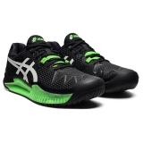 Giày Tennis Asics Gel Resolution 8 Black/Green Gecko (1041A079.003)